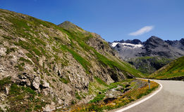 Gavia Pass, Italy Stock Images