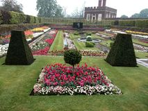 One of the two Pond Gardens. Hampton Court, Surrey, England Royalty Free Stock Image
