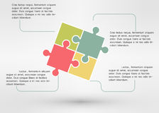 One two three four five - vector progress icons Royalty Free Stock Photography