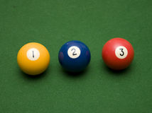One Two Three Pool! Royalty Free Stock Photos