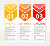 One Two Three Text Blocks Royalty Free Stock Photography