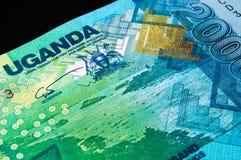 One Ugandan 2ooo shillings bank note Royalty Free Stock Photos