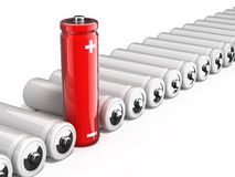 One unique battery Stock Images