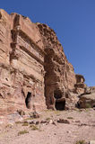 One of the unnamed Royal tombs. Petra, Jordan. Royalty Free Stock Photography