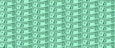 One US dollar banknote stock photography