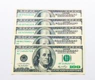 Free One US Dollar Banknotes On White Background. Buckes Stock Photo - 87607990
