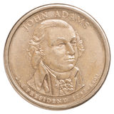 One US dollar coin Stock Photography