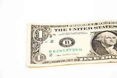 One US  dollar Royalty Free Stock Photos