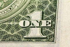 One US dollar Stock Photography