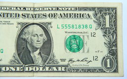One US Dollar. Stock Photo