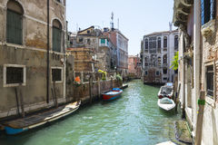 One Venetian corner Stock Images