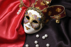 One Venetian Mask Royalty Free Stock Images