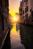 One of the Venetian streets Royalty Free Stock Photography