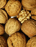 One walnut open Stock Photos
