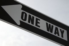 Free One Way Stock Photography - 600422