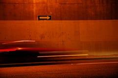 One Way Blur Stock Image