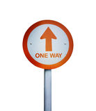 One way board  background Royalty Free Stock Photos