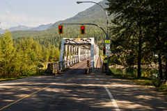 One way bridge Stock Images