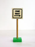 One Way Road Sign Royalty Free Stock Images