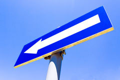 One way road sign Royalty Free Stock Photos