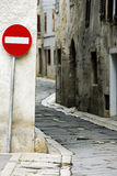 One way street Stock Photography