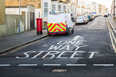 One way street Stock Image