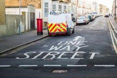 One way street Stock Image