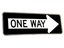 One Way Stock Image