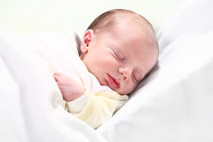 One week old baby Royalty Free Stock Image