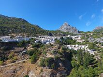 One of the white villages in Andalusia.