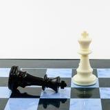 One white win blacks chess Stock Image