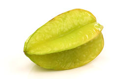 One whole carambola's  (Averrhoa carambola) Stock Image
