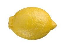 Free One Whole Lemon Isolated On White Background Stock Image - 29424301