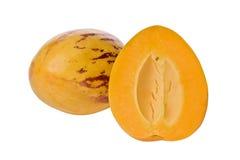 Pepino Melon (Solanium muricatum) Stock Photo