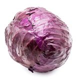 Red Cabbage isolated Stock Photography