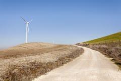 One Wind Power Stock Photo