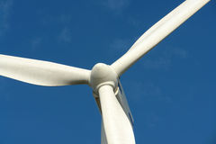 One wind turbine. Royalty Free Stock Photo