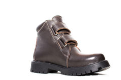 One winter boot Stock Photo