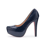 One women's stylish shoes high heels royalty free stock photography