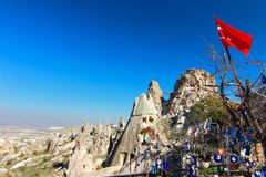 One of the wonders of the world ,Cappadocia, Turkey Royalty Free Stock Image