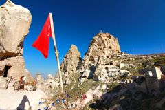 One of the wonders of the world ,Cappadocia, Turkey Stock Photos