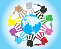 One world together Royalty Free Stock Photography