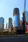 One World Trade Center. New York City, under construction Stock Photos