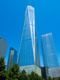 One World Trade Center also known as The Freedom Tower in New Yo Royalty Free Stock Photos
