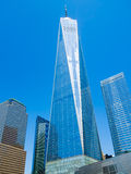 One World Trade Center also known as The Freedom Tower in New Yo Royalty Free Stock Images