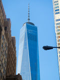 One World Trade Center building in New York City Royalty Free Stock Photography