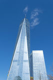 One World Trade Center in the financial district of NYC Royalty Free Stock Photography