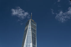 One World Trade Center in the financial district of NYC Royalty Free Stock Images