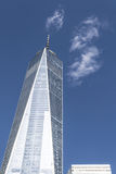 One World Trade Center in the financial district of NYC Royalty Free Stock Image