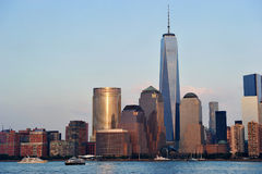 One World Trade Center. (formerly known as the Freedom Tower), in New York City, is the primary building of the new World Trade Center complex in Lower Royalty Free Stock Photos